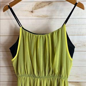 XXI~ Neon Yellow Medium Dress.